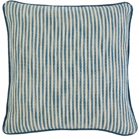 Striped Turquoise Pillow Set of 4