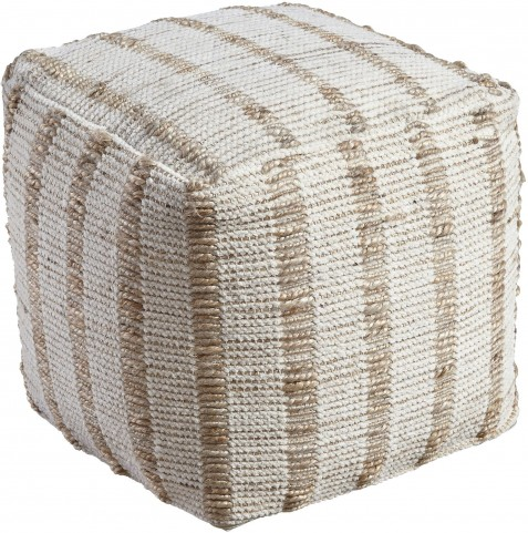 Damir Natural Pouf