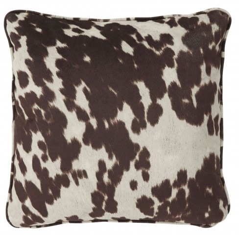 Dagan Brown and White Pillow Set of 4