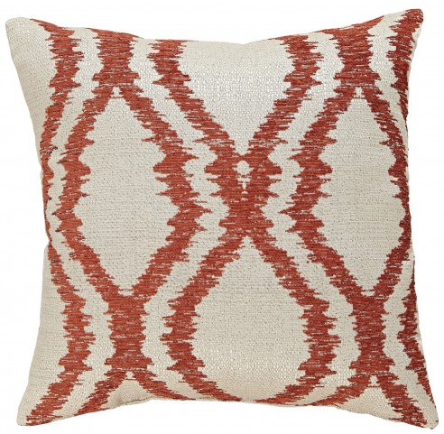 Estelle Orange Pillow Set of 4