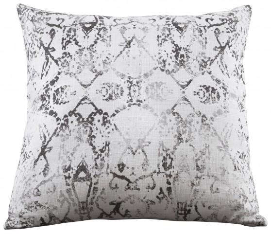 Textured Gray Pillow Set of 4