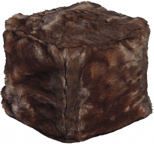 Himena Brown Pouf