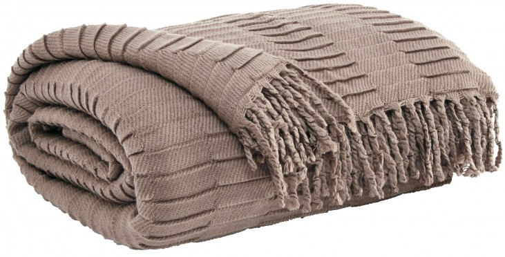 Mendez Taupe Throw Set of 3