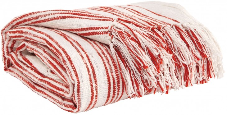 Callumn Coral Throw Set of 3