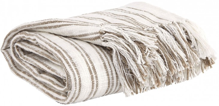 Callumn Beige Throw Set of 3