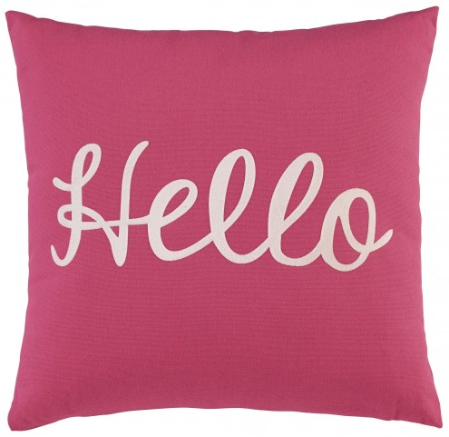 Shapeleigh Pink Pillow Set of 4