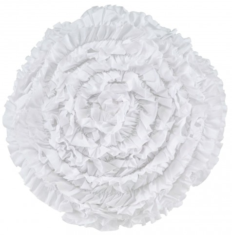Bloompier White Pillow Set of 4