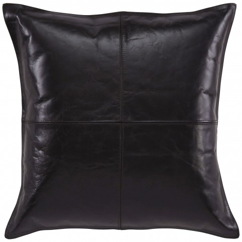 Brennen Black Pillow Cover Set of 4