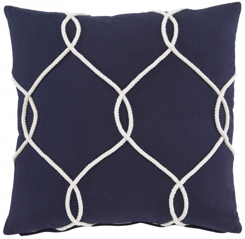 Lessel Blue Pillow Cover Set of 4