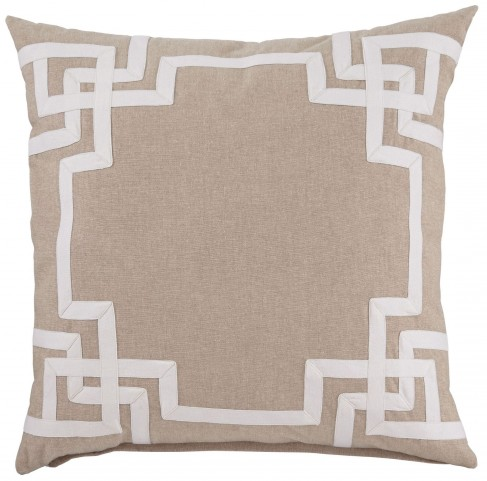Vassel Natural Pillow Cover Set of 4