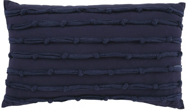 Larkton Navy Pillow Set of 4