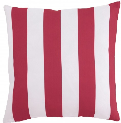 Hutto Red and White Pillow Set of 4