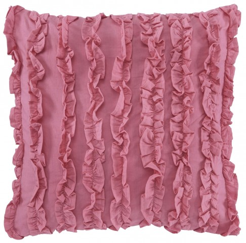 Ruffin Pink Pillow Set of 4