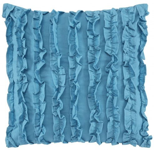 Ruffin Turquoise Pillow Set of 4