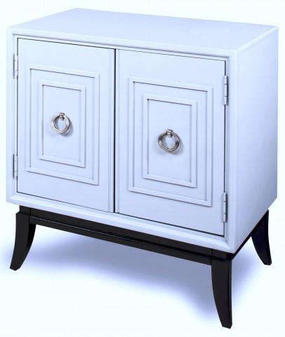 Trinity Gray Espresso Base Door Chest