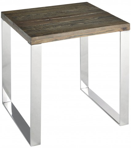 Axel Chrome End Table