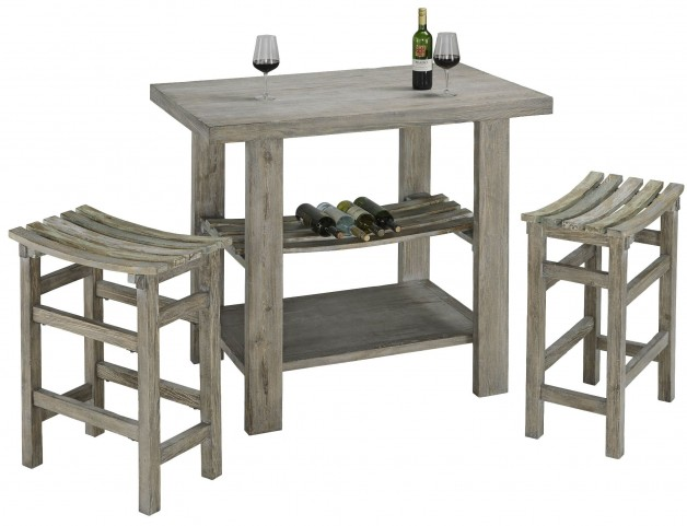 Cabernet Grey Bar Set
