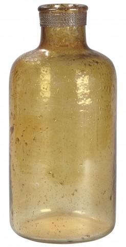 """Octavie 15"""" Amber Vase"""
