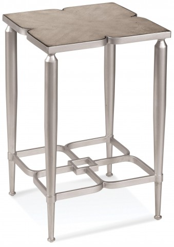 Christie Platinum Accent Table