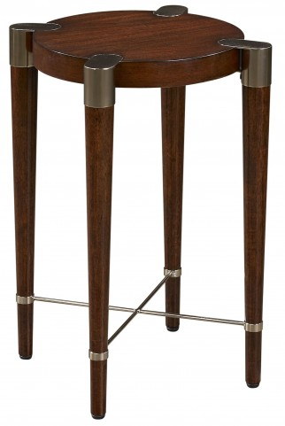 Bristoll Walnut Accent Table