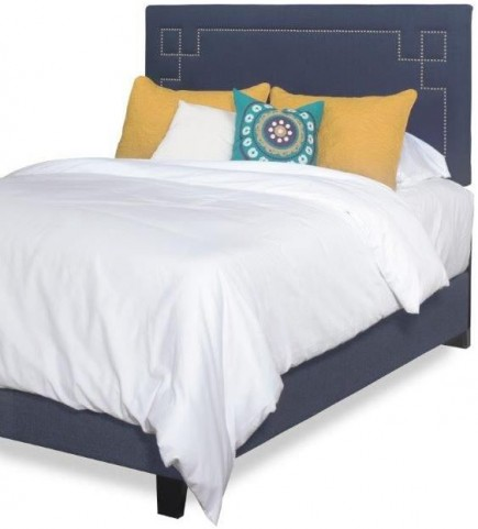 Addison Cobalt Blue King Upholstered Bed