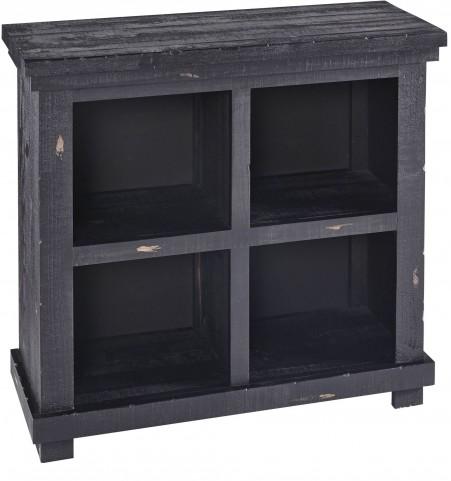 "Willow 32"" Black Bookcase"