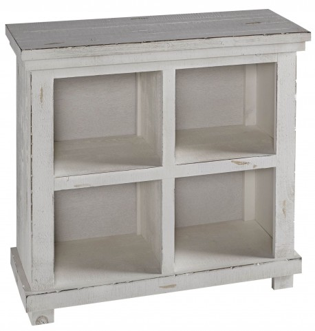 "Willow 32"" White Bookcase"