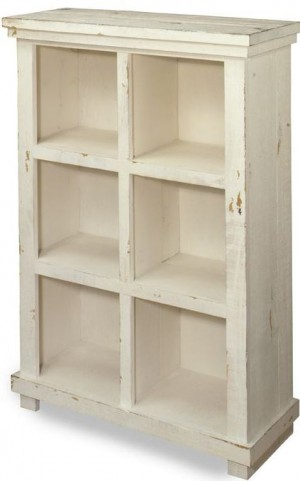 "Willow White 48"" Bookcase"