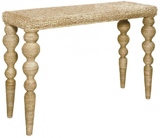 Belize Natural Woven Console