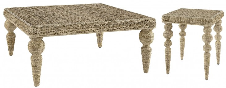 Belize Beige Occasional Table Set