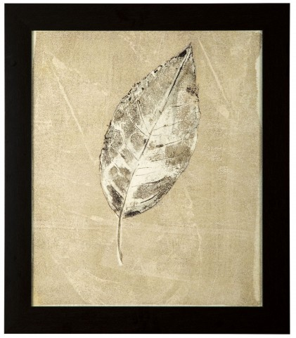 Balara Beige Leaf Design Wall Art