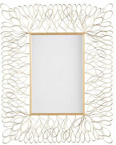 Ogdon Antique Gold Accent Mirror