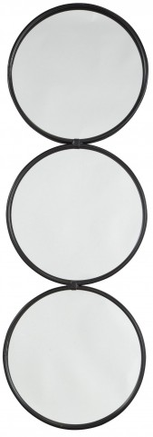 Ohanko Black Accent Mirror