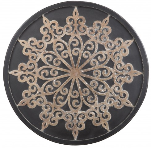 Oenomaus Black and Silver and Gold Wall Decor