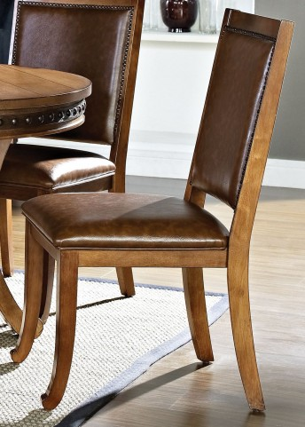Ashbrook Oak Side Chair Set of 2