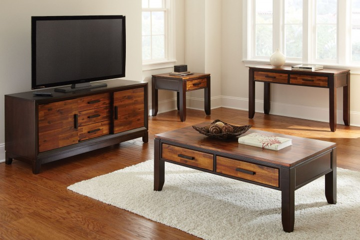 Abaco Cordovan Cherry Occasional Table Set