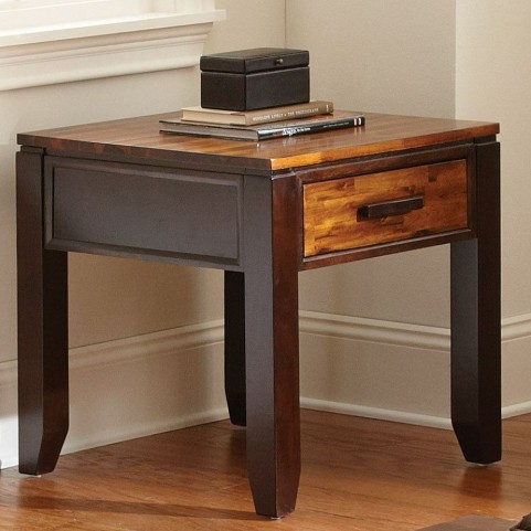 Abaco Cordovan Cherry End Table