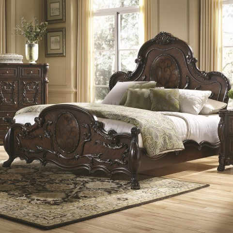 Abigail King Panel Bed