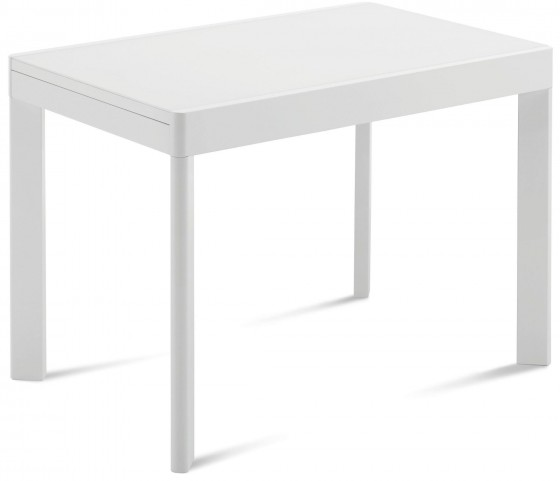 Ace White Extendable Rectangular Dining Table