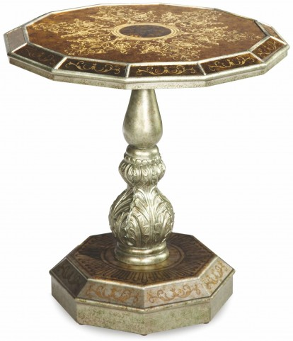Asiana Round Accent Table