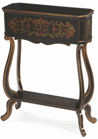 Clayton Brown Planter Accent Table
