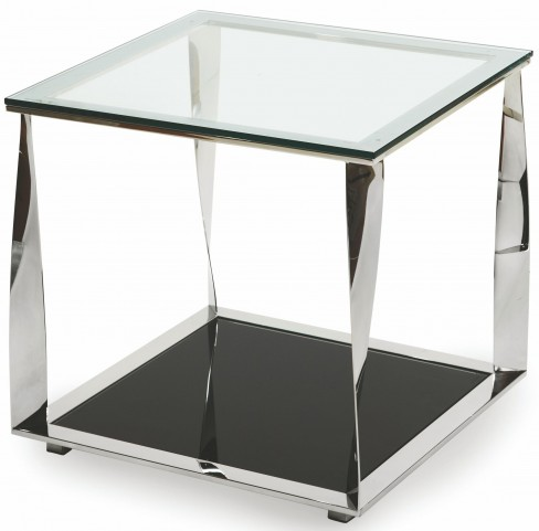 Accent Square Glass Table
