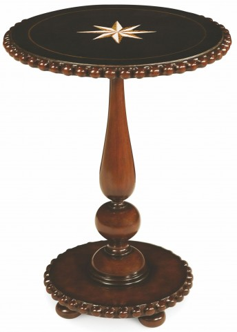 Accent Round Glass Table