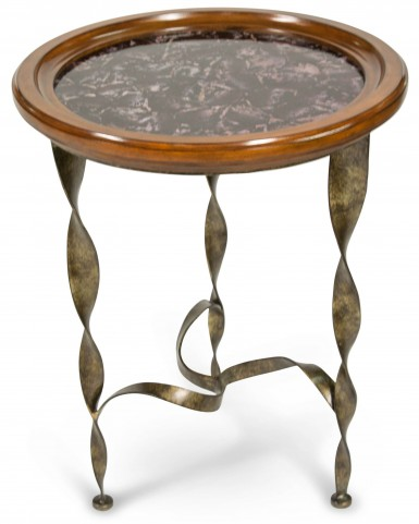 Discoveries Pentagon Base Accent Table