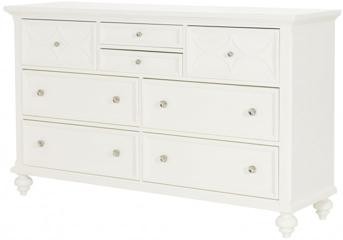 Lynn Haven Soft Dover White Dresser