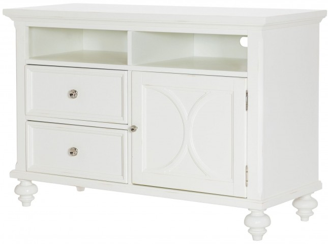 "Lynn Haven Soft Dover White 48"" Entertainment Console"