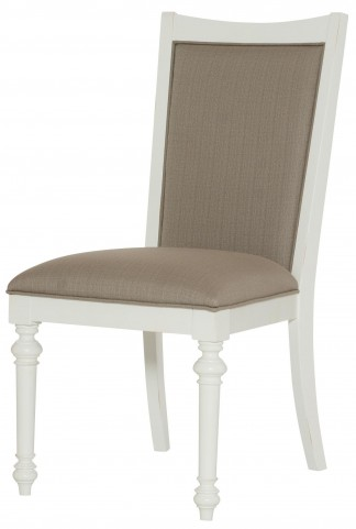 Lynn Haven Soft Dover White Upholstered Side Chair