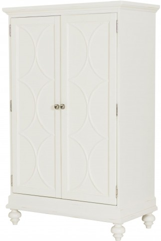 Lynn Haven Soft Dover White Bar Cabinet