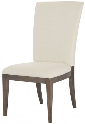 Park Studio Weathered Taupe Upholstered Side Chair
