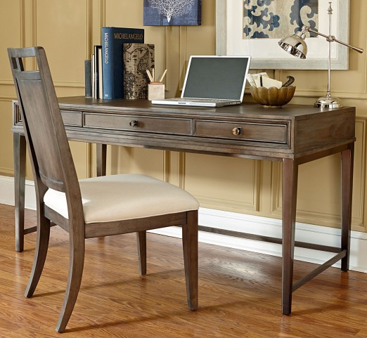Park Studio Weathered Taupe Home Office Set